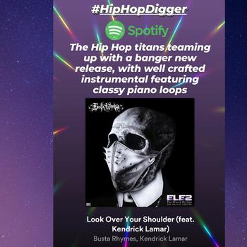 Busta Rhymes - Look Over Your Shoulder ft. Kendrick Lamar