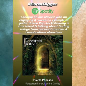 Puerto Penasco (feat. Lonnie Danley) - Forgotten Door