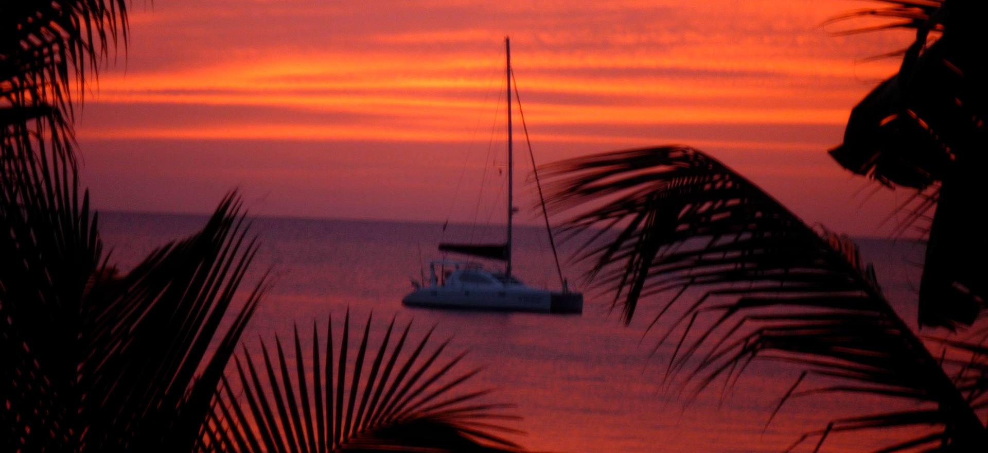 Sunset at Chaconia
