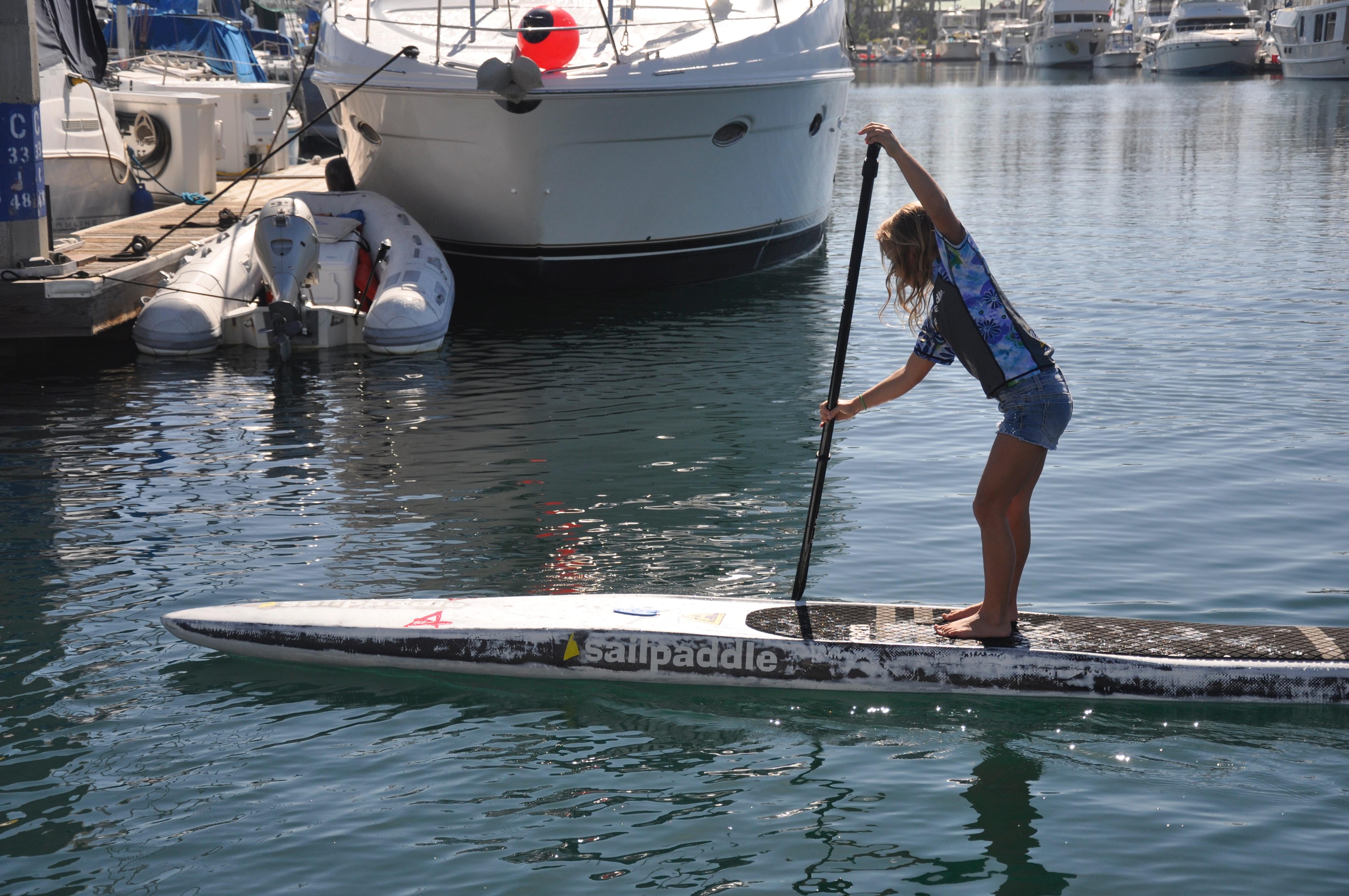 Yawfin™ Paddle Straight