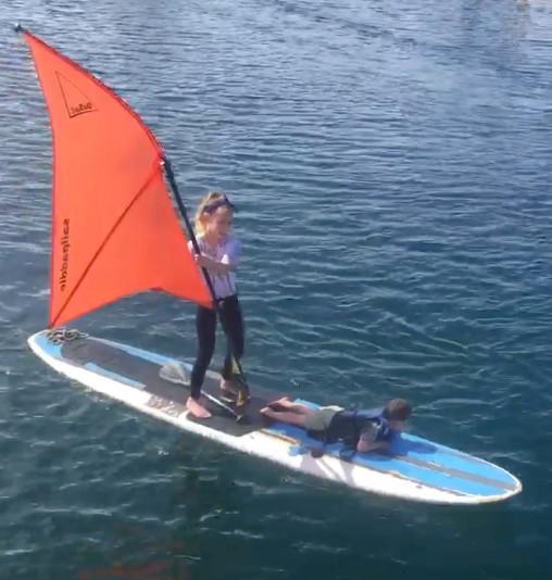 Enjoying a Spring Sail