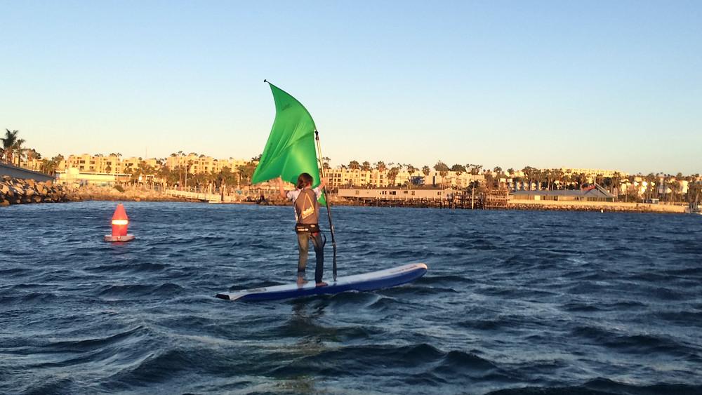 Wind Paddle Sailpaddle