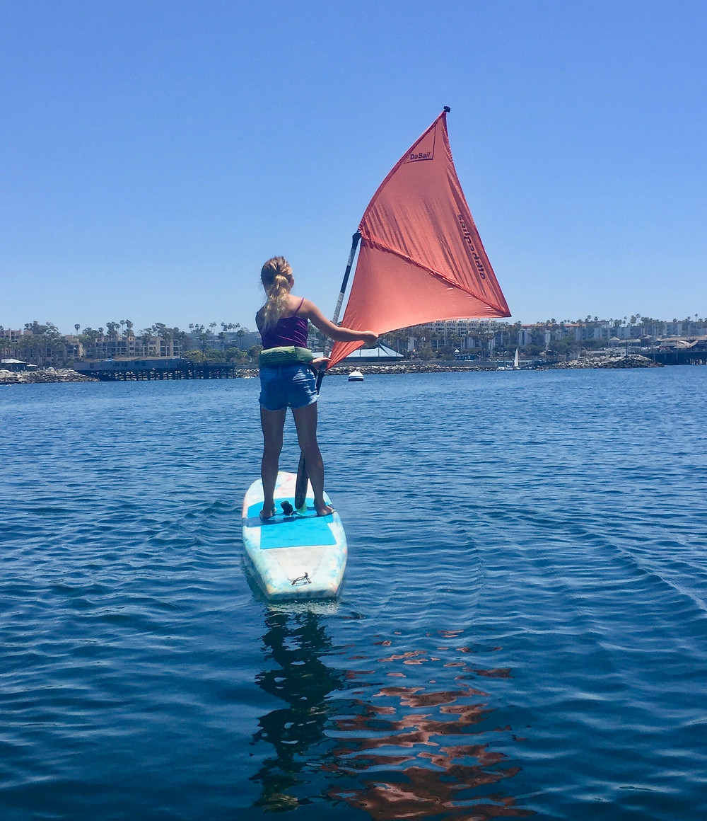 Feel the Wind DaSail™ SUP Paddle