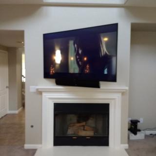 Fejarang job - Fireplace TV Recess - Finish