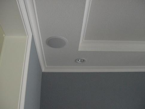 Costello dining room ceiling speaker - June 2004.JPG