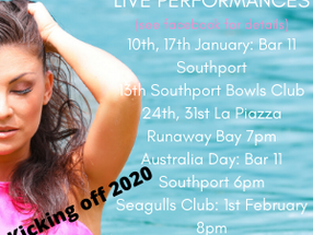 2020! Live Performances kick off
