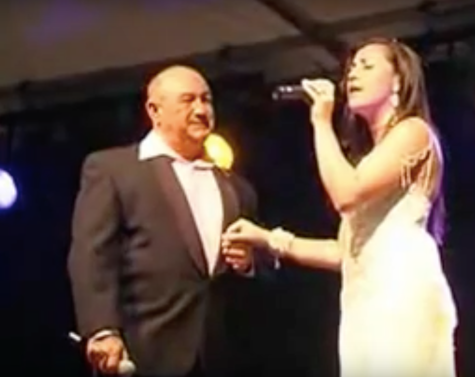 My Father and I performing: 'The Prayer' duet