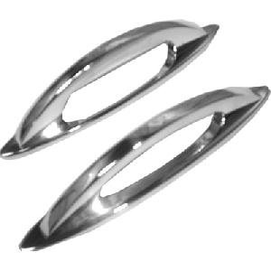 Oval Door Handle Set
