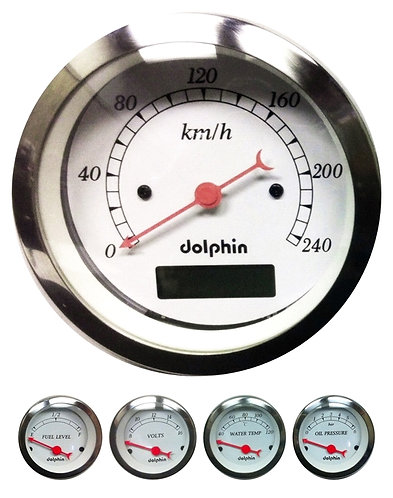 5 Gauge Metric w/Programmable Speedo