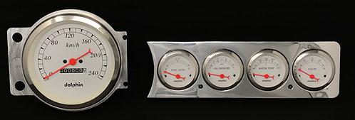 "1941-1948 Chevy Car FM 5 Hole 5""S  Metric"