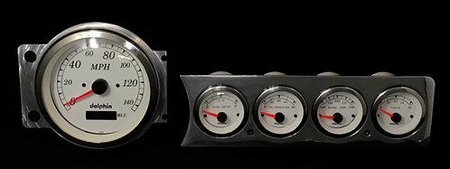 """1941-1948 Chevy Car FM 5 Hole 5""""S  GPS"""