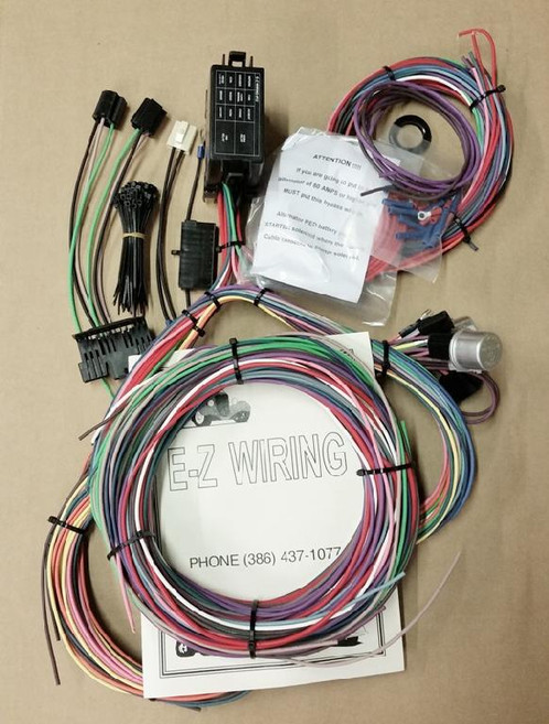 EZ Wiring 12 Mini Wiring Harness on easy wiring connectors, easy wiring manual, easy pump, easy wiring kit, easy body harness, easy wiring diagrams,
