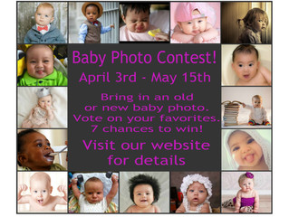 Enter Our Baby Photo Contest