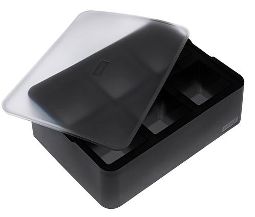 Lurch Eiswürfelbehälter 5x5 cm mit Deckel