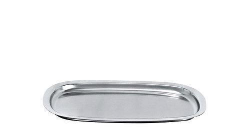 Alessi Tablett Edelstahl silber