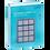 Thumbnail: Lurch Eisformer Würfel 4x4 cm eisblau
