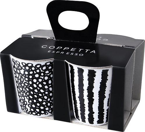 ASA 4er Set Espressobecher 4 Motive copetta