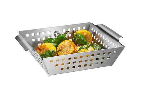 GEFU Grillschale BBQ - Gemüsekorb klein