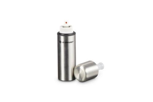 Le Creuset Essig Öl Sprayer silber