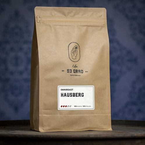 93Grad Hausberg Kaffee ganze Bohnen