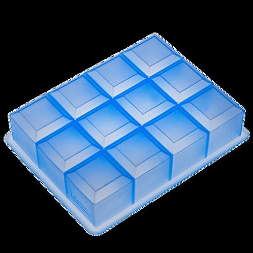 Lurch Eisformer Würfel 4x4 cm eisblau