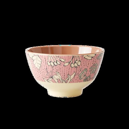 "Rice Melamin Bowl Schüssel ""wild chervil print"""