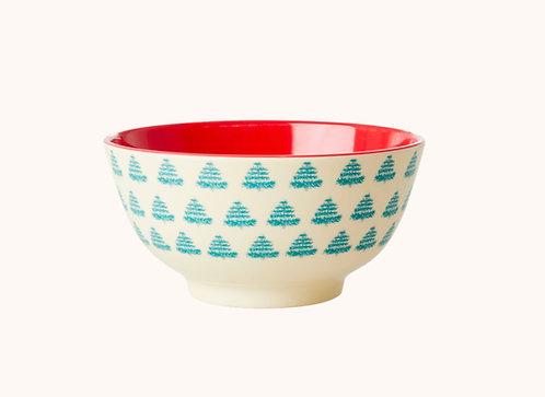 "Rice Melamin Bowl Schüssel ""Christmas"""