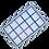 Thumbnail: Lurch Eisformer Würfel 3x3 cm eisblau