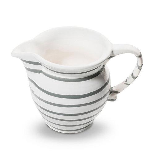 Gmundner Keramik Milchgießer graugeflammt