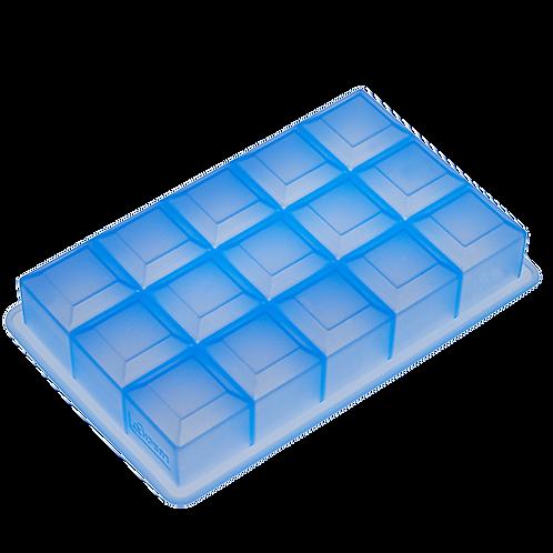 Lurch Eisformer Würfel 3x3 cm eisblau