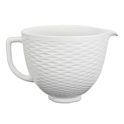 KitchenAid Keramikrührschüssel weiß
