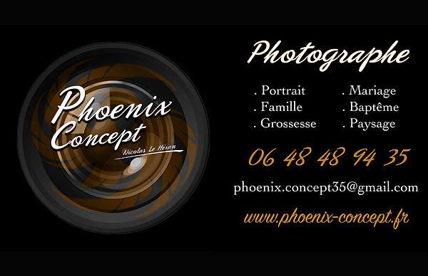 CARTE DE VISITE FORMAT PAYSAGE Photograp