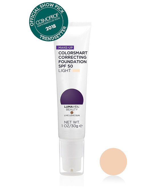 COLORSMART CORRECTING FOUNDATION SPF 50: LIGHT