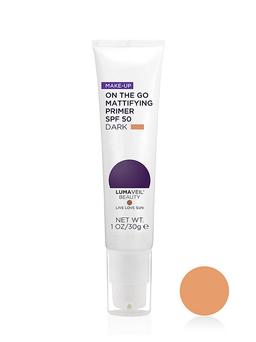 ON THE GO MATTIFYING PRIMER SPF 50: DARK