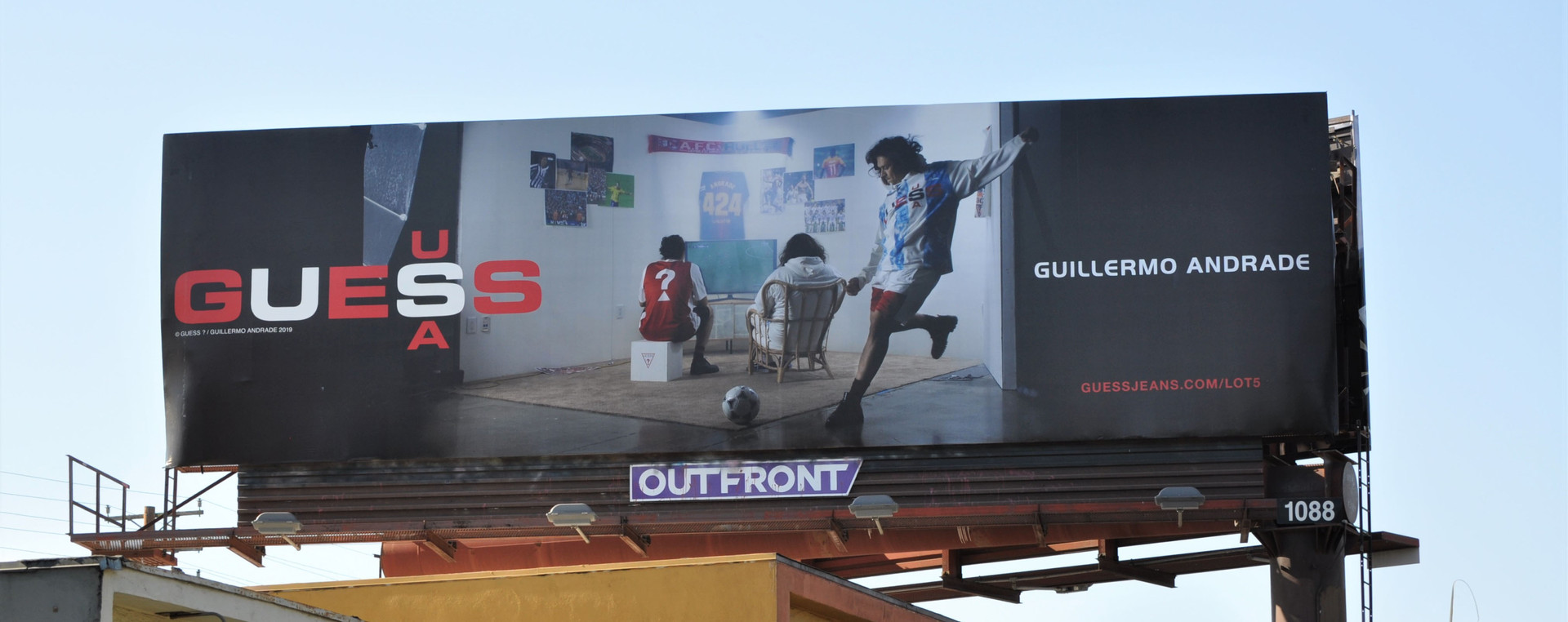 Guess Sport x Guillermo Andrade Billboard