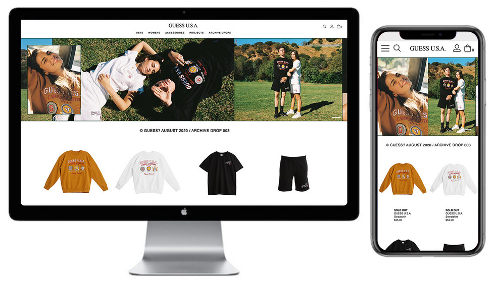 Website Launch Pages