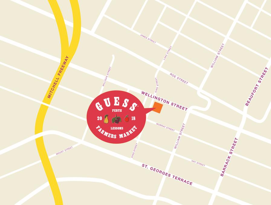 Perth Pop-up Map