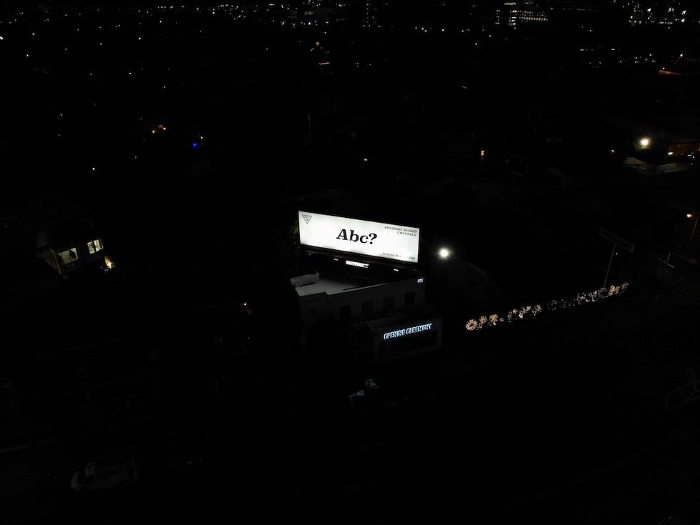 Illuminated Billboard