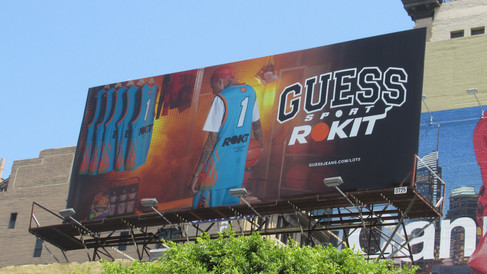 Guess Sport x Rokit Billboard