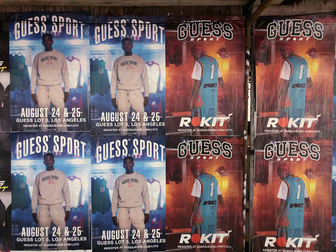 Guess Sport + Rokit Wheat Pastings