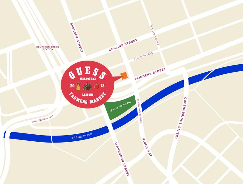 Melbourne Pop-up Map