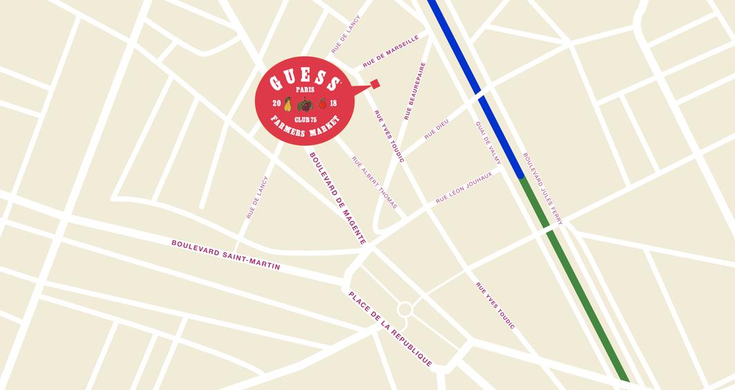Paris Pop-up Map