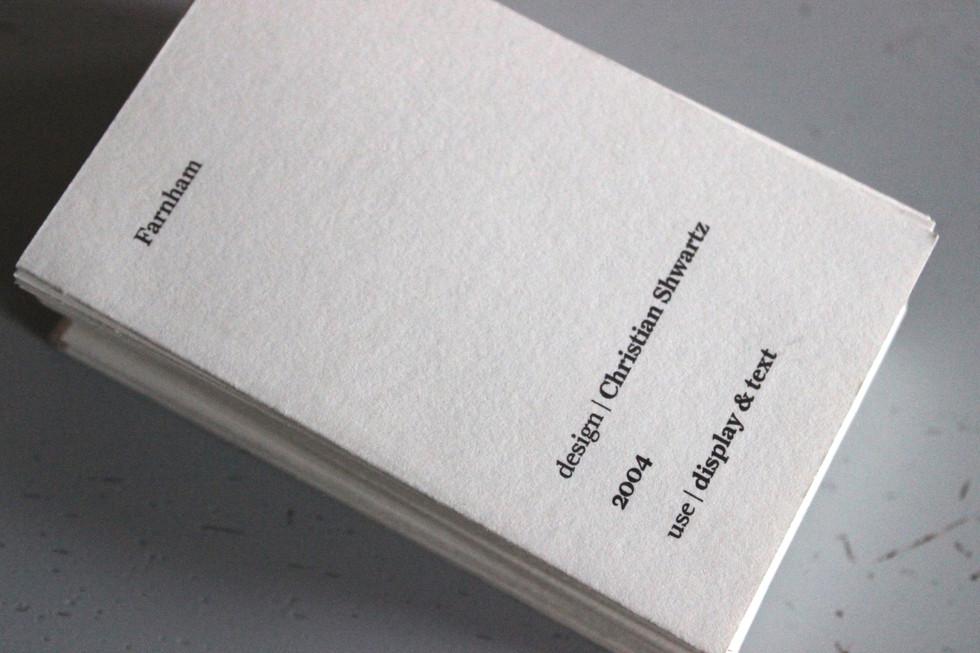 Farnham card