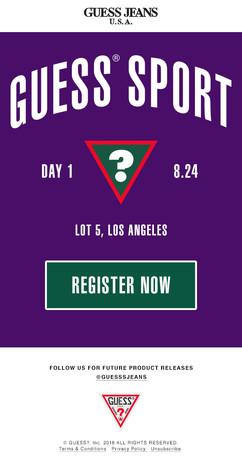 Event Registration Email