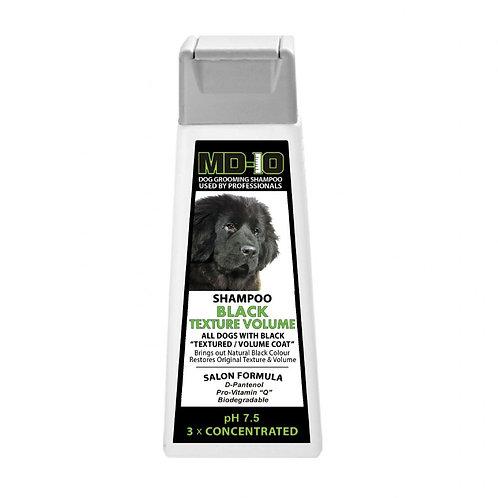 MD10 Black Texture Volume Shampoo