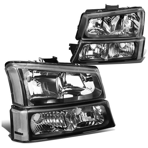 03-06 Chevy Silverado (4pc) Headlights