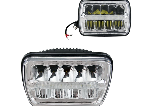 5x7 Sealed Beam LED Headlights Series 1