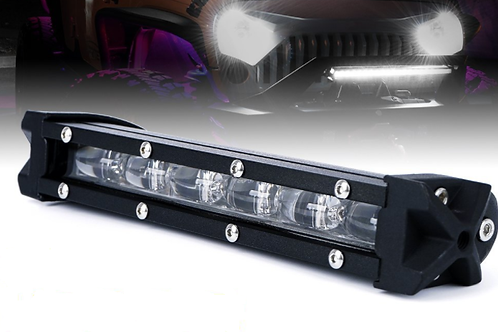 "4D Single Row ""Straight"" Light Bar"