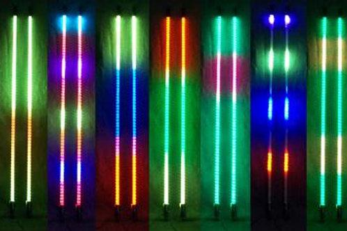RGB Whip Lights