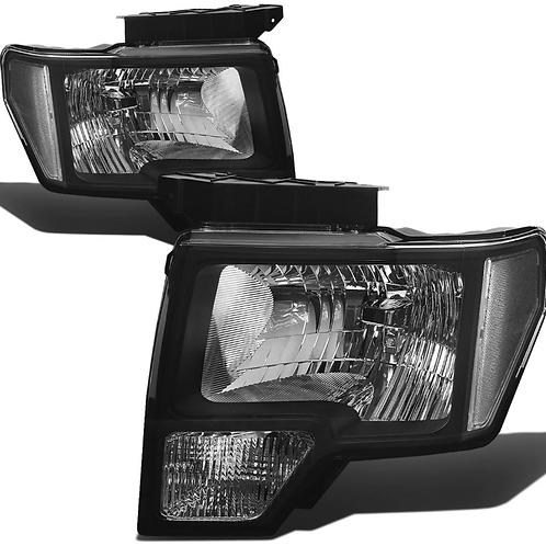 09-14 Ford F150 Headlights